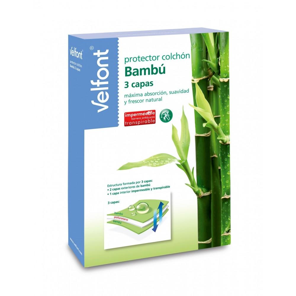 Protector de colchón de Bambu