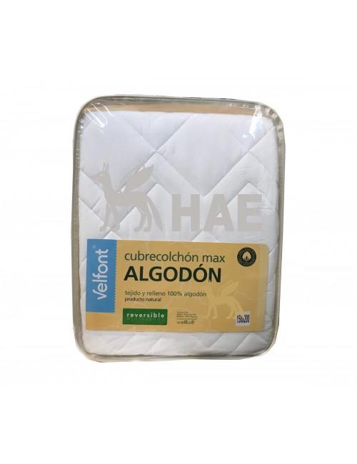 Cubrecolchón - MAX Alcochado de algodón