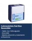 Cubrecolchón Pad Rizo Reversible