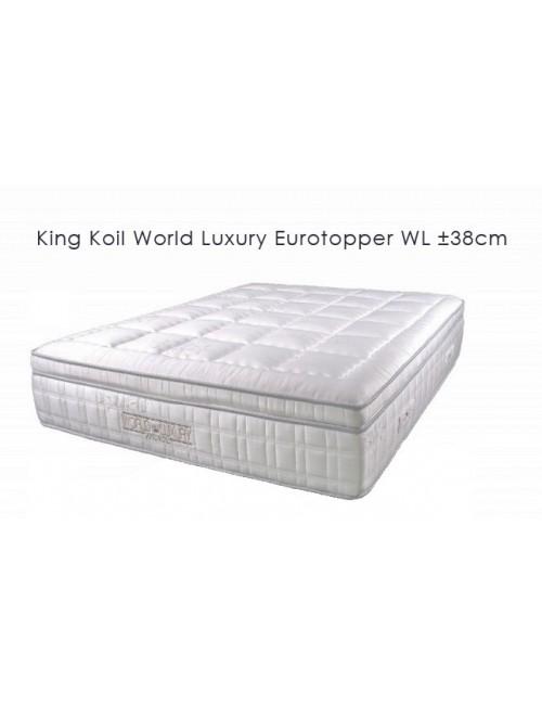Mattress Eurotopper WL ±38cm - King Koil