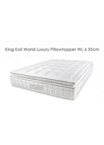 World Luxury Pillowtopper ±35cm - King Koil mattress