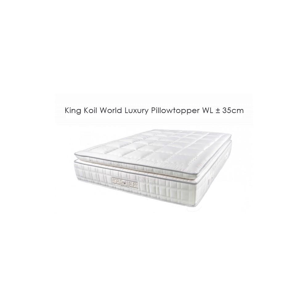 World Luxury Pillowtopper ±35cm - King Koil mattress