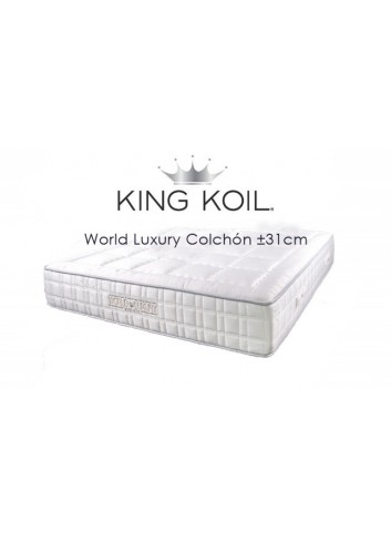 World Luxury colchón ±31cm - King Koil