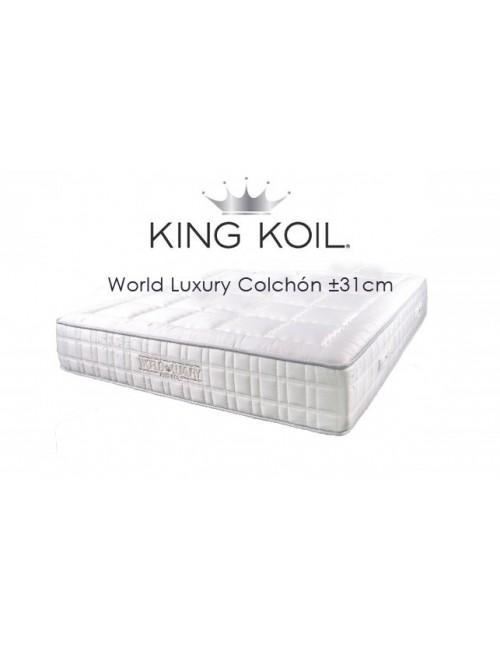 World Luxury Edition mattress ±31cm - King Koil