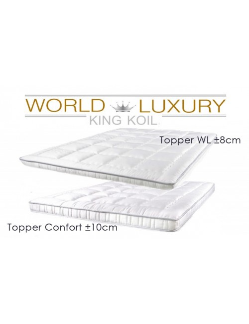 King Koil Topper - World Luxury Edition