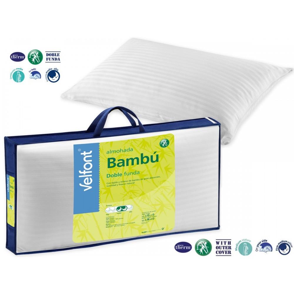 Almohada Bambú