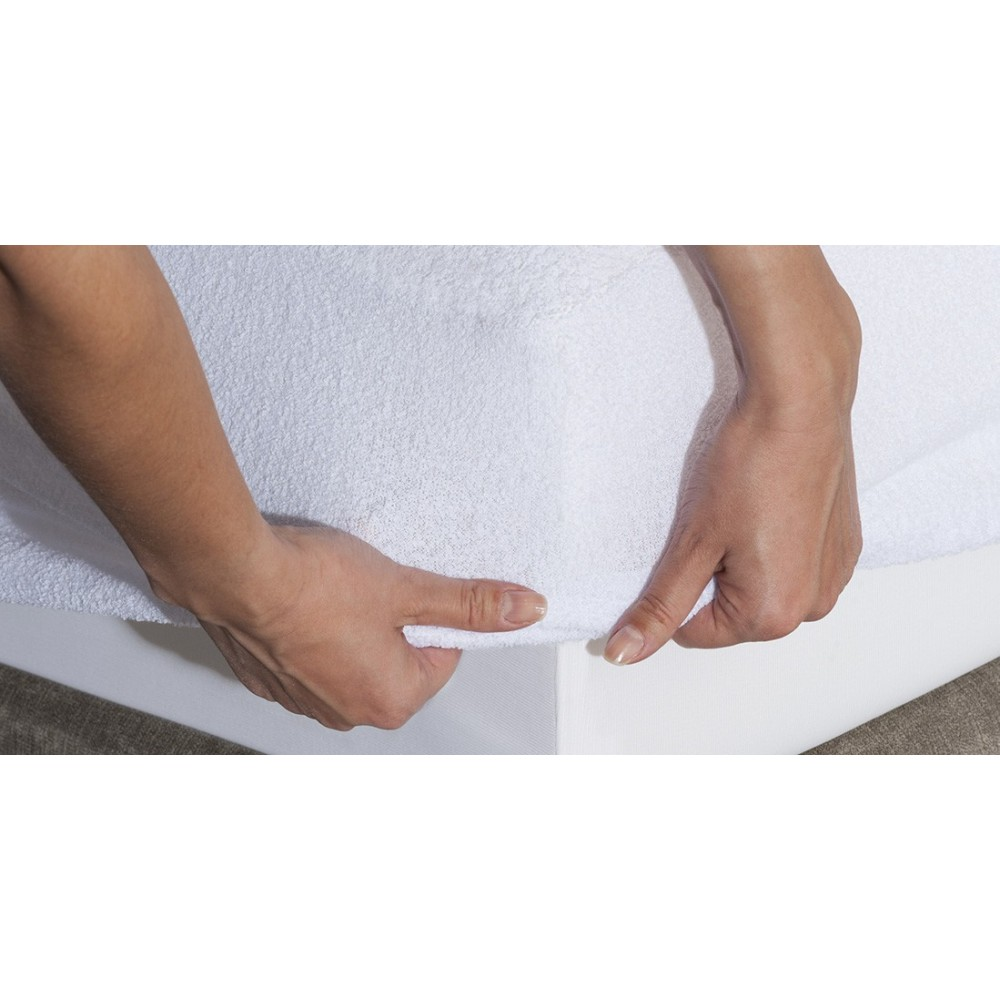 Waterproof & Breathable Terry Cotton mattress protector